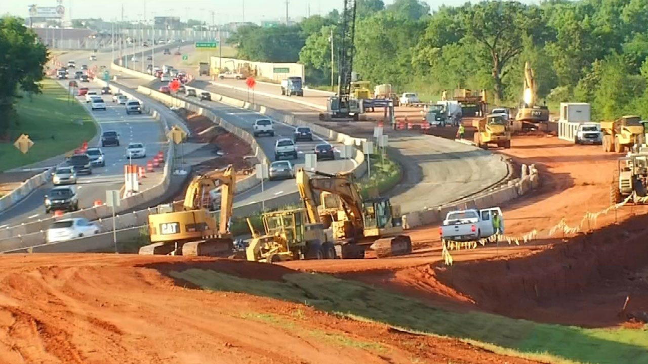 I-235 Reopens After 20 Months Of Construction