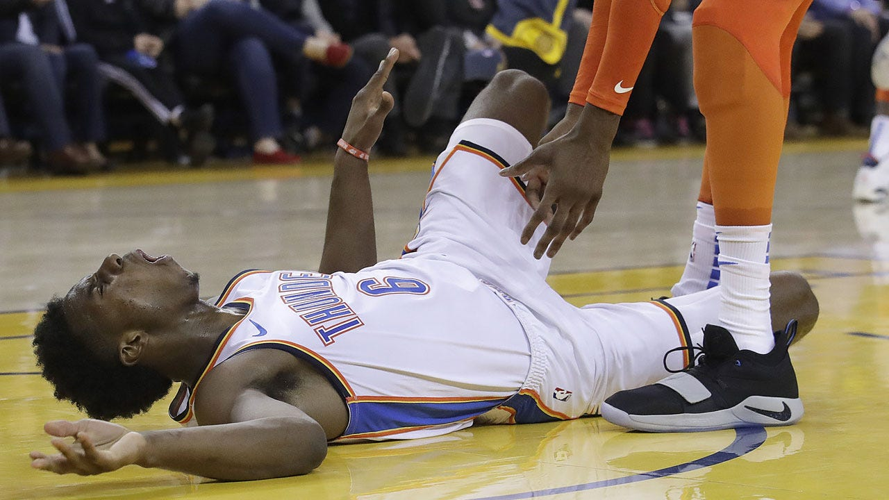 Thunder Officials: Hamidou Diallo Sprained Left Ankle In Golden State Game