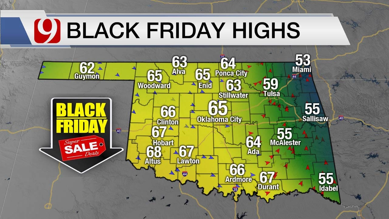 Jed Castles' Black Friday Forecast