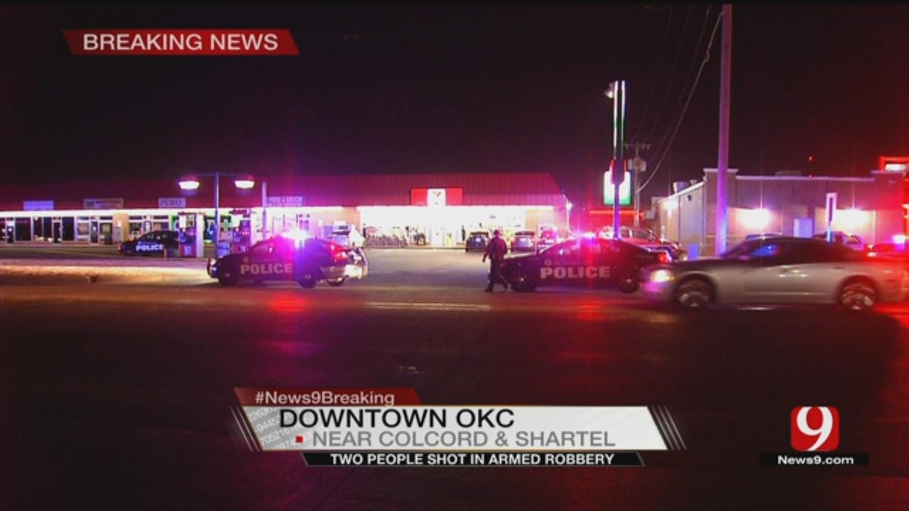 2 Shot In Carjacking At SW OKC Gas Station