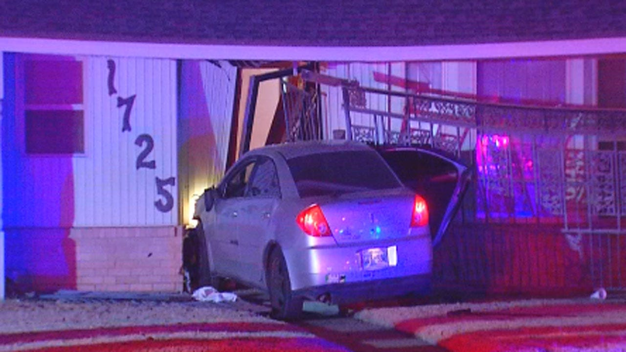 Accused Drunk Driver Hits Elderly Woman's NE OKC Home