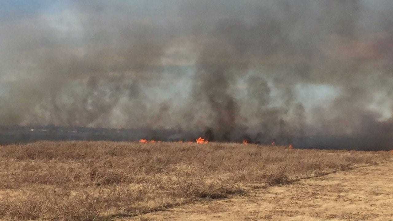 Crews Respond Multiple Fires Across Oklahoma