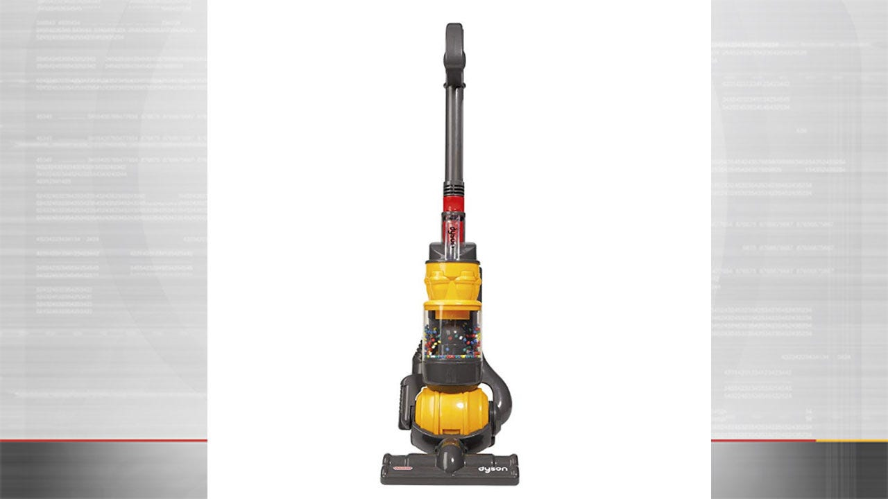 Parents! Amazon Sells A Toy Vacuum That Actually Cleans