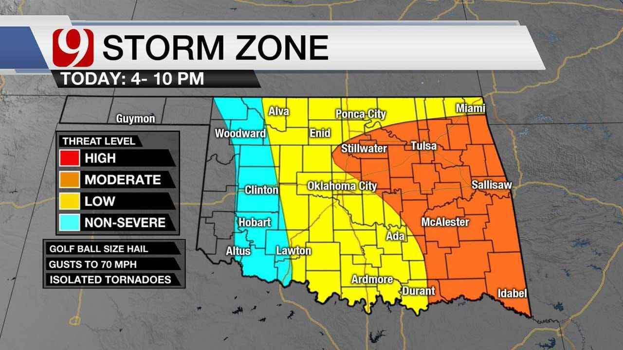 Powerful Storm Makes Way Into State Friday Evening