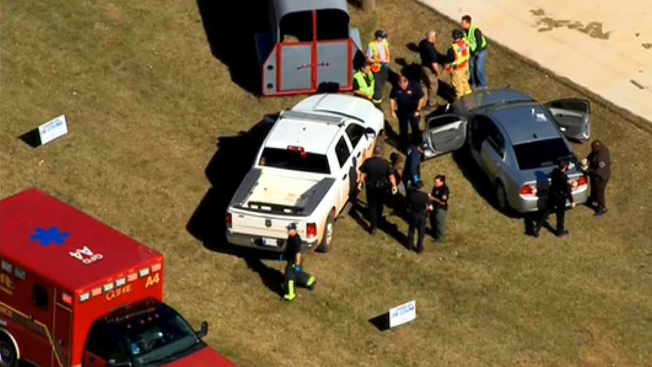 Suspect Arrested Following Guthrie Police Pursuit