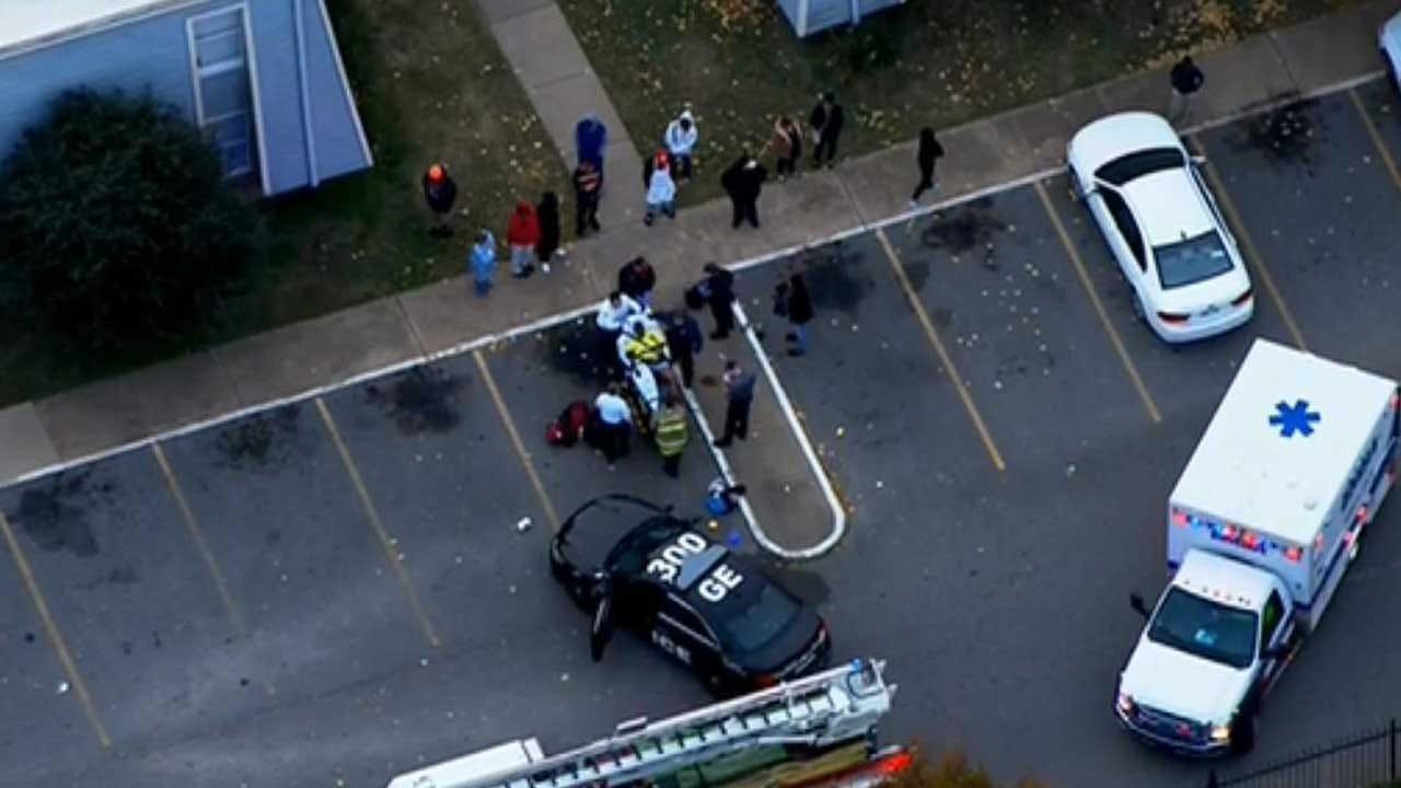 1 Injured In NW OKC Shooting
