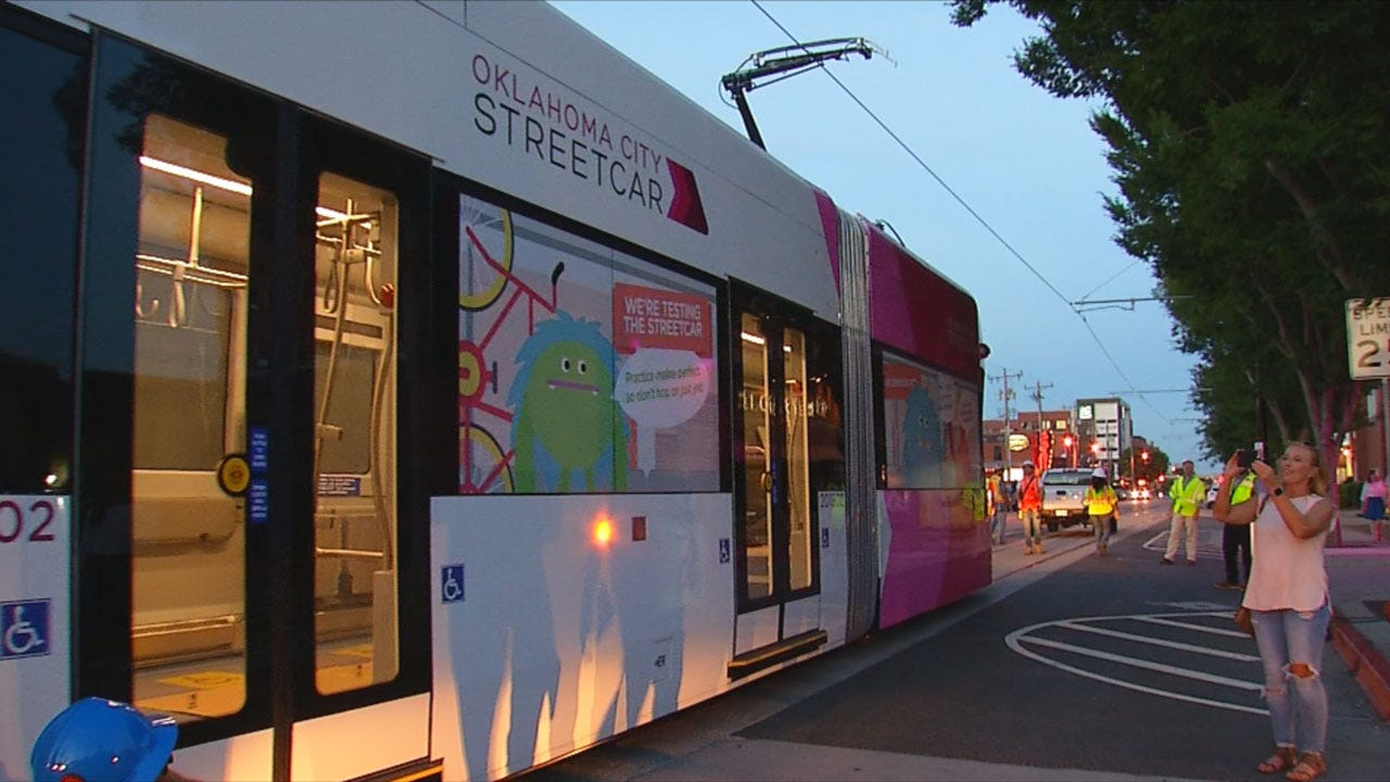 OKC Street Cars To Officially Hit The Rails In December
