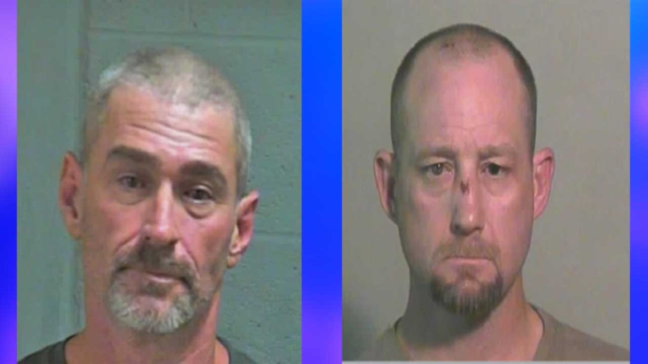 2 Longtime Criminals Behind Bars After High-Speed Chase Ends In OKC