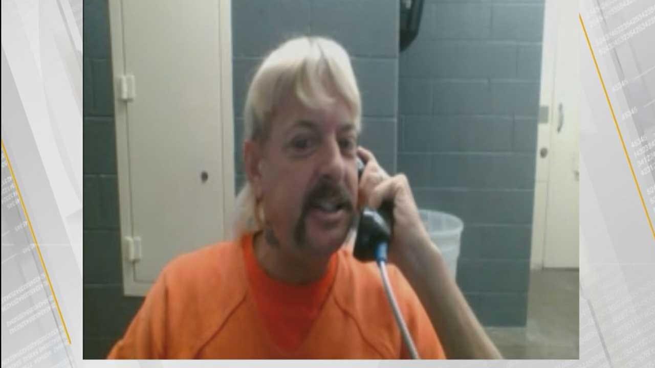 'Joe Exotic' Says Prison Conditions Are Deplorable