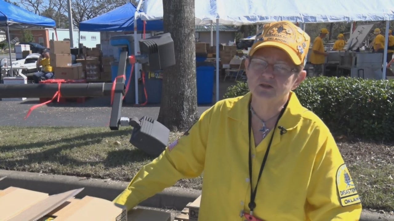 [UNFILTERED] Oklahoma Baptist Disaster Relief 'Blessing' After Hurricane Michael