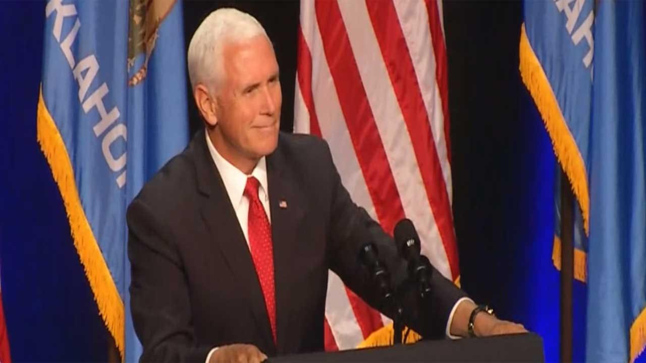 Vice President Pence Formally Endorses Kevin Stitt During Tulsa Rally