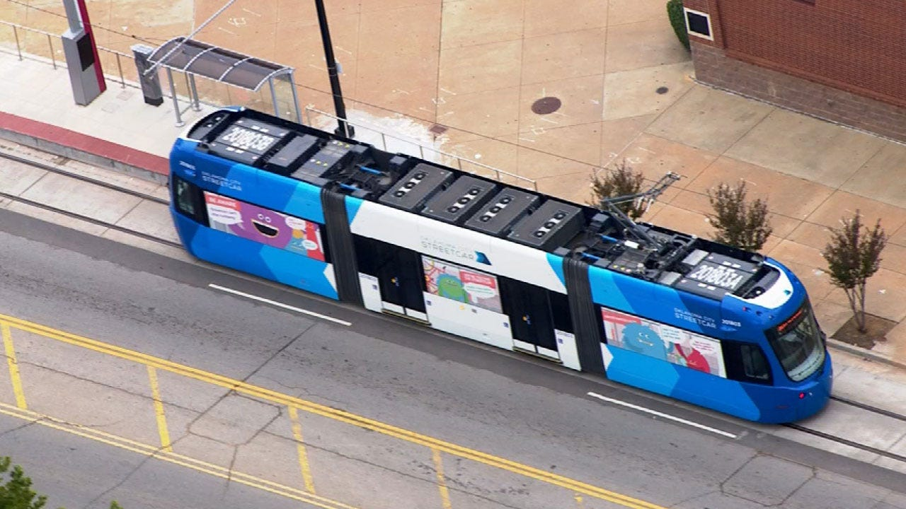 Opening Weekend Set For OKC's New Downtown Streetcars