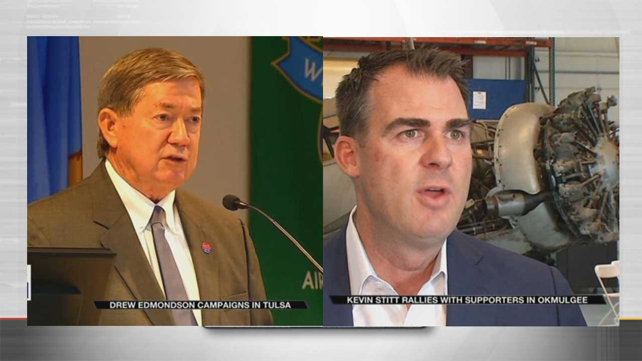 Exclusive News 9 Poll: Whose Favorability Is Higher, Edmondson's Or Stitt's?
