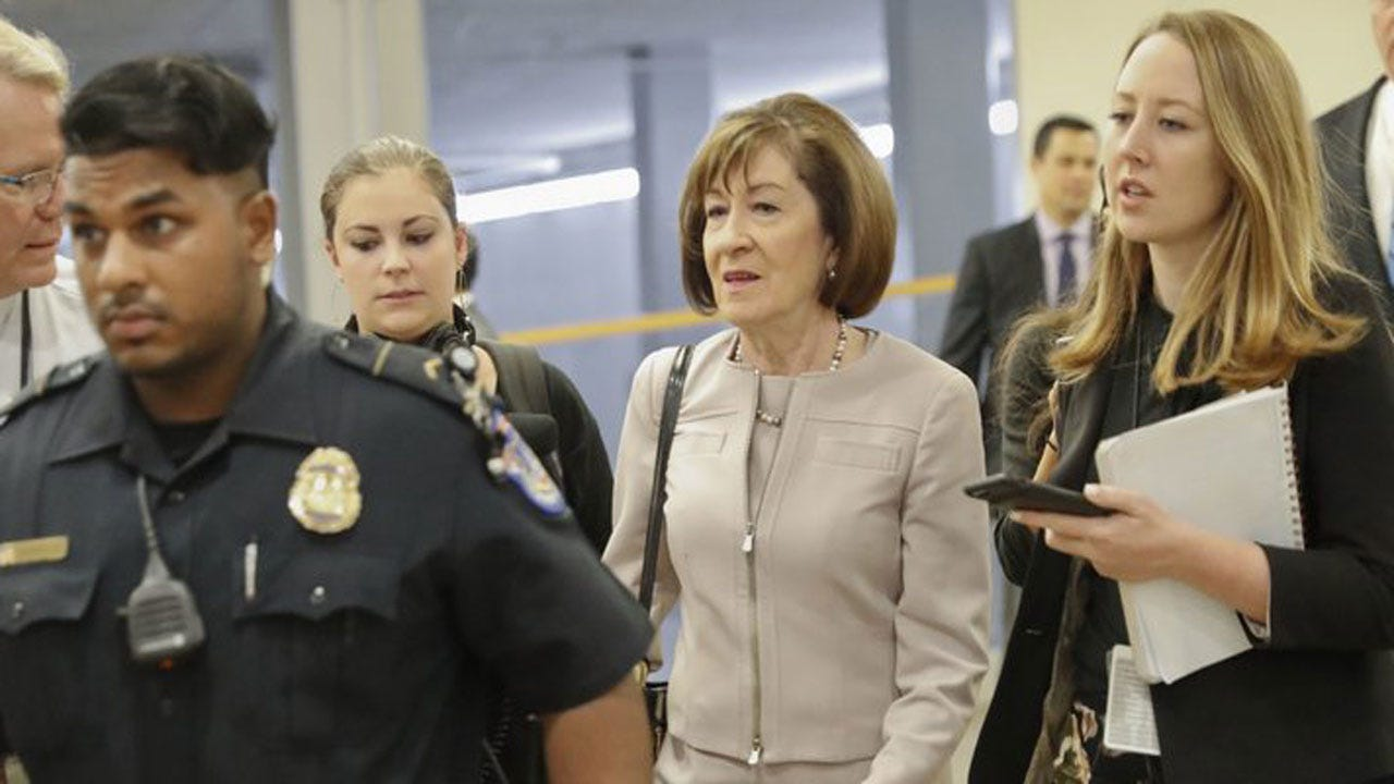 Senator Collins Backs Kavanaugh, Paving Way For Confirmation