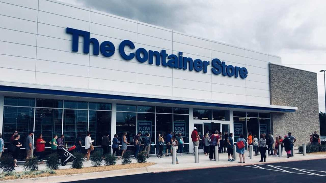 Hundreds Turn Out For The Container Store's Grand Opening