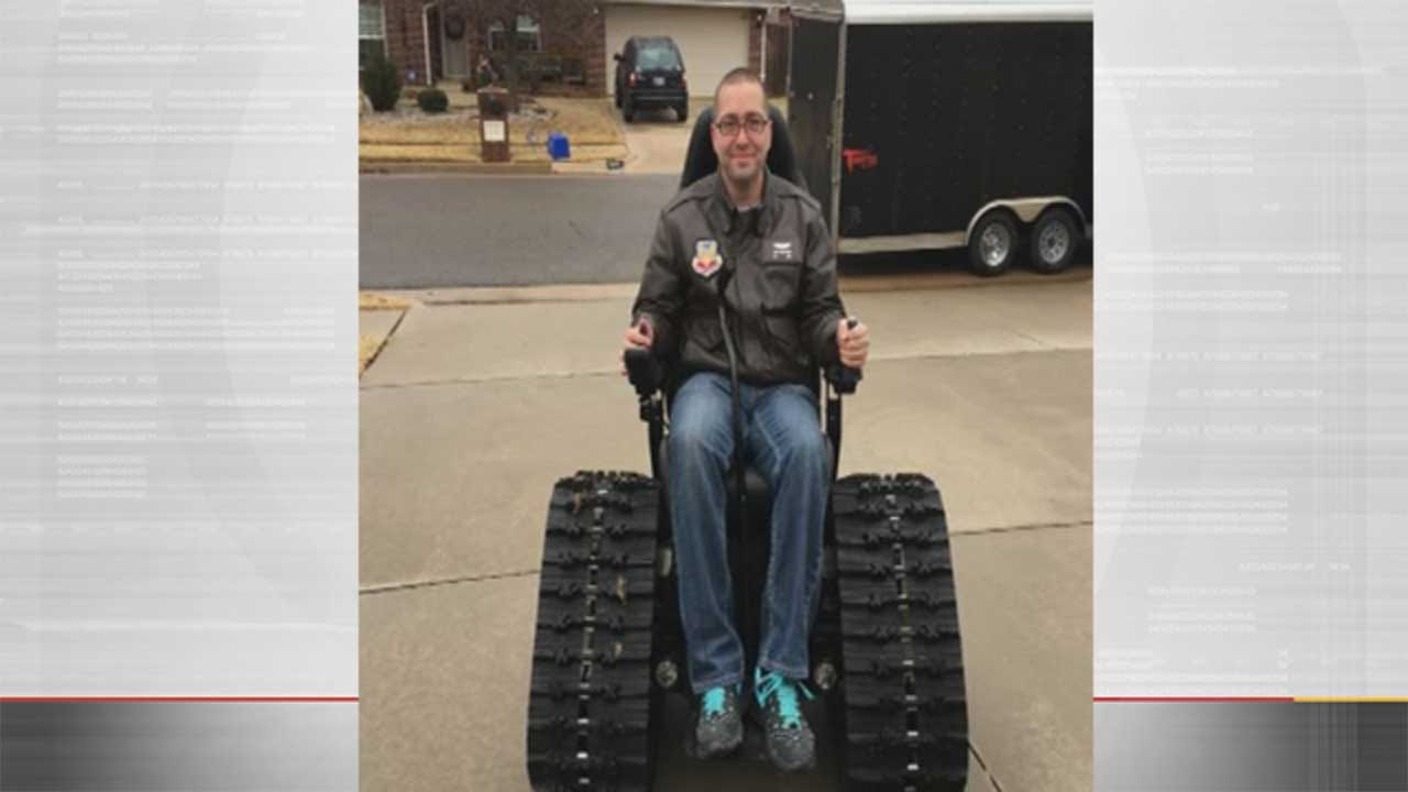 Disabled OKC Vet Seeking Refund For 'Defective' Wheelchair