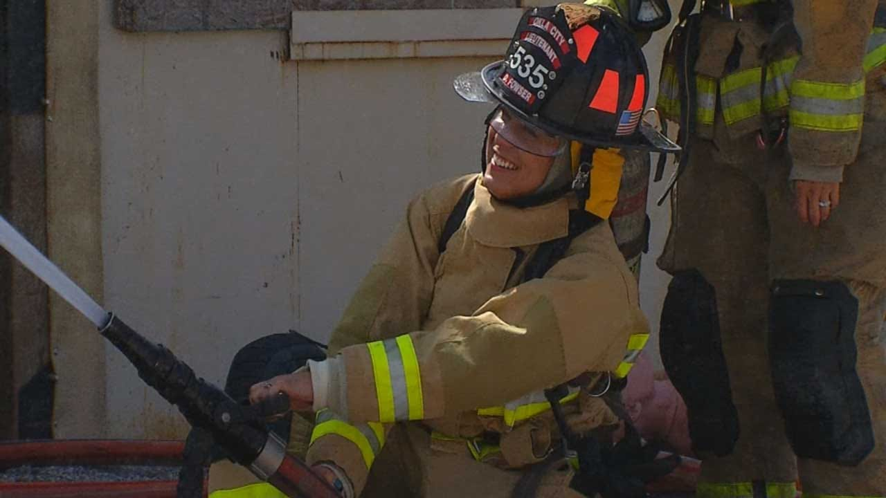 OKCFD Recruiting Women With Hands-On Camp