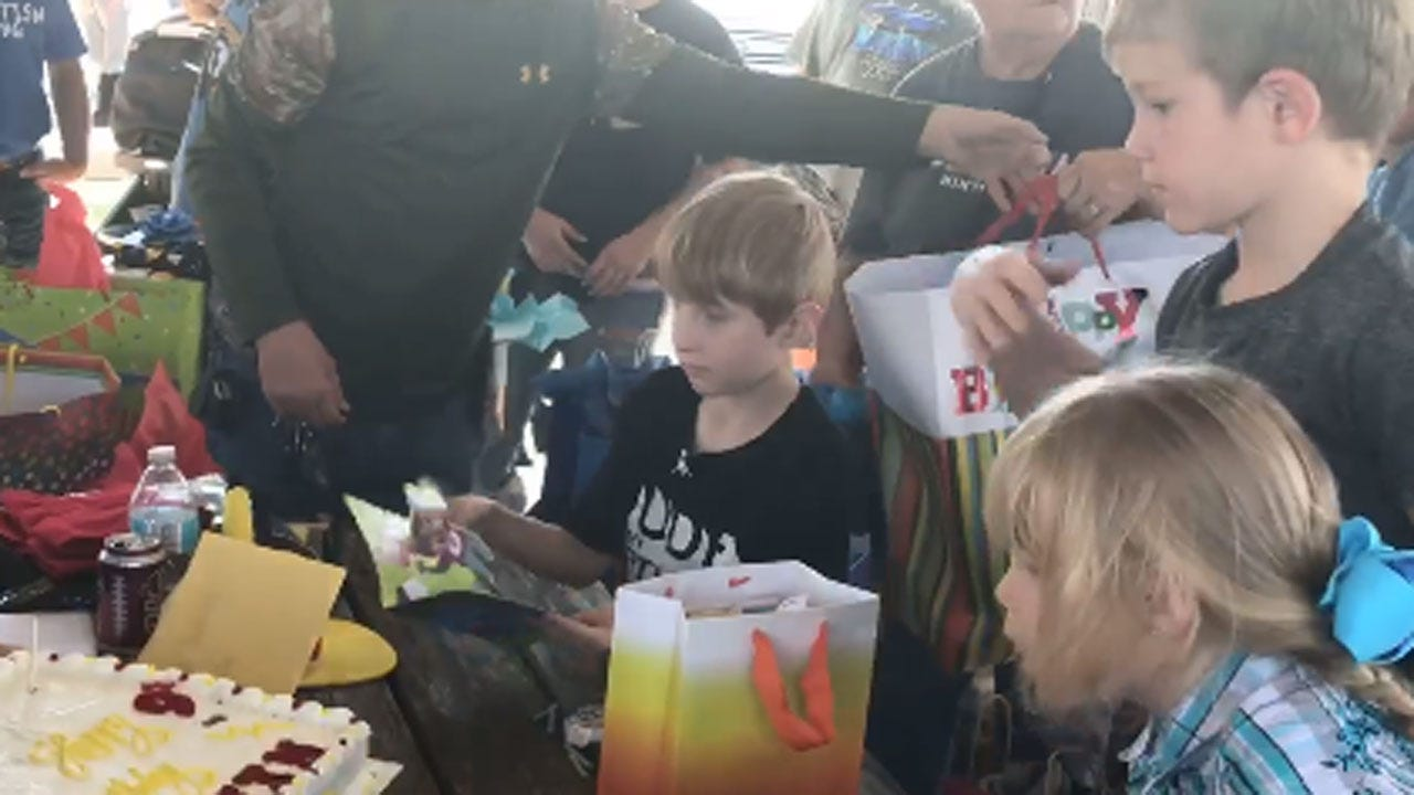 Community Throws 9-Year-Old The Birthday Party Of A Lifetime
