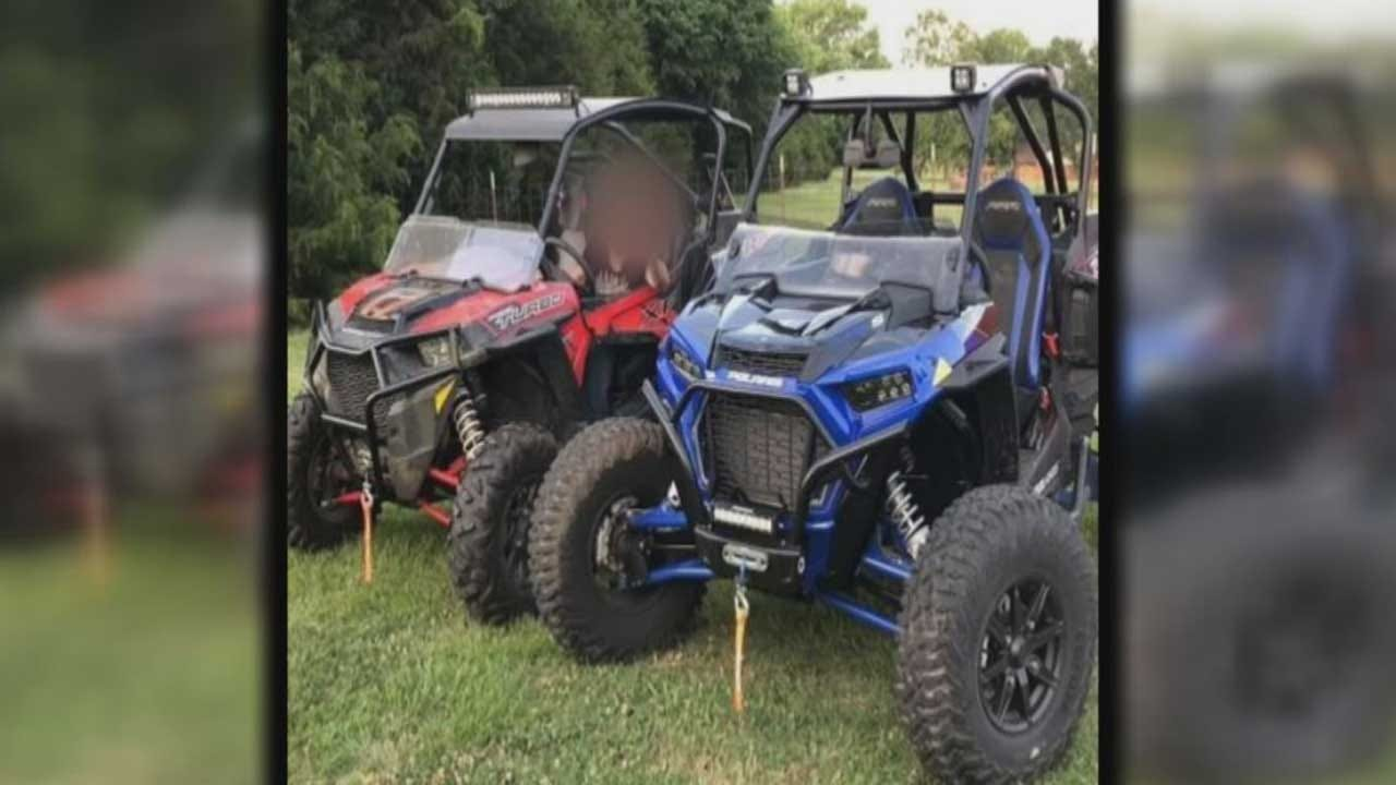 Trailer, ATVs Stolen From Shawnee Woman's Driveway