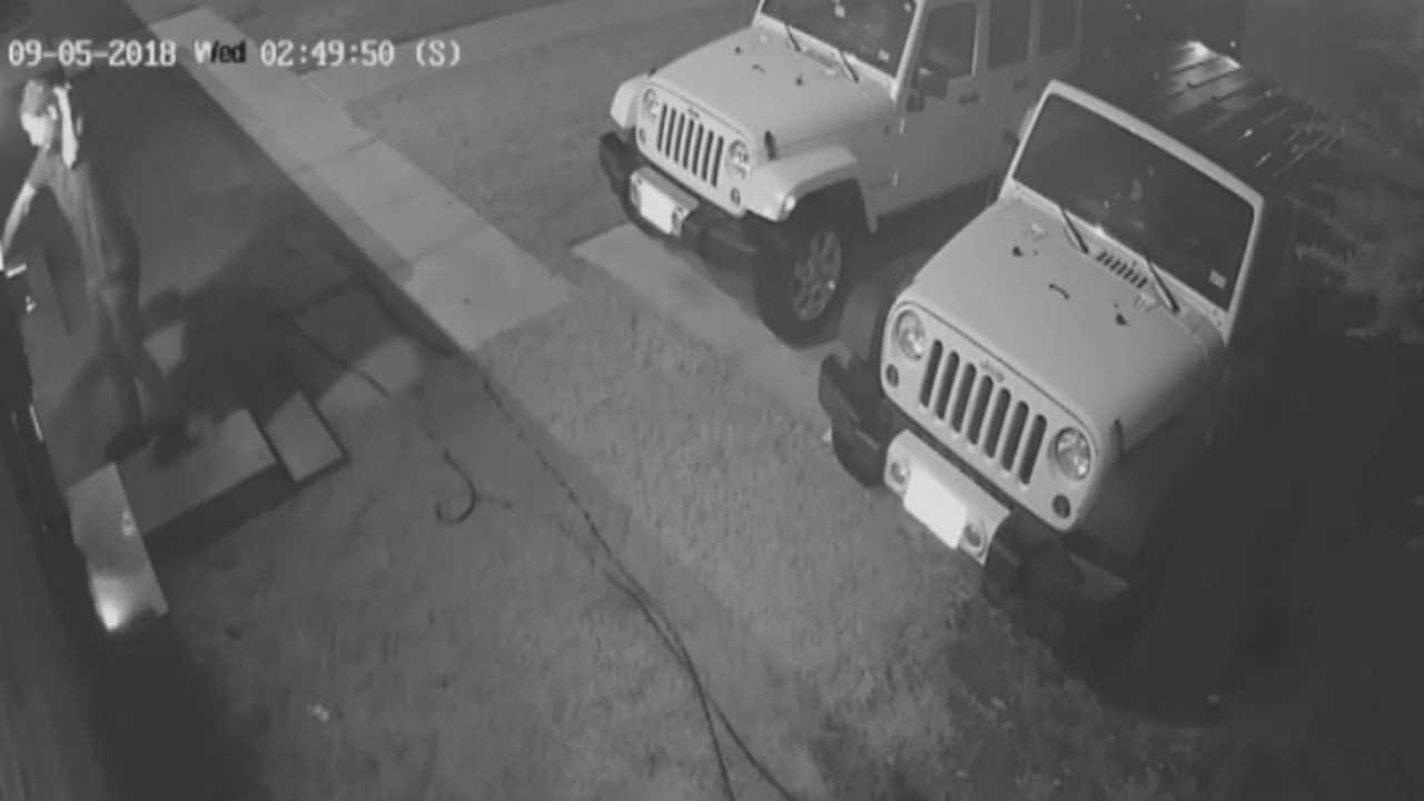 Burglar Attempts Break-In Of 4 Sleeping Residents In Norman