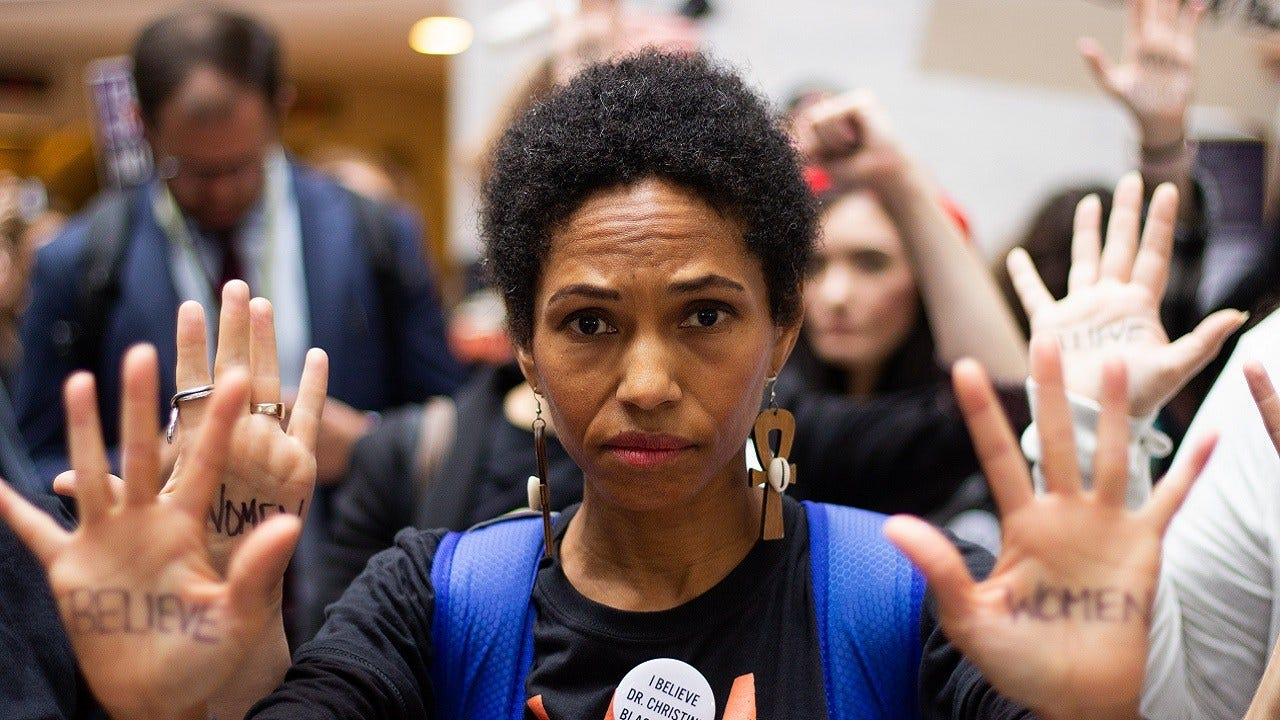[UNFILTERED] Photos From Protests Outside Kavanaugh-Ford Hearing
