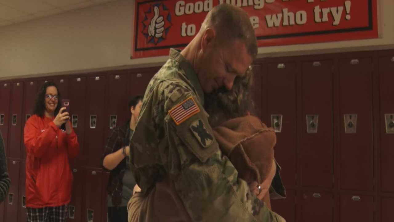 Oklahoma's Own: Special Surprise For Mustang Family