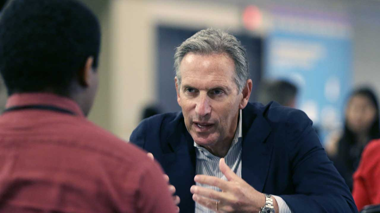 Democrats To Former Starbucks CEO Howard Schultz: Don't Do It