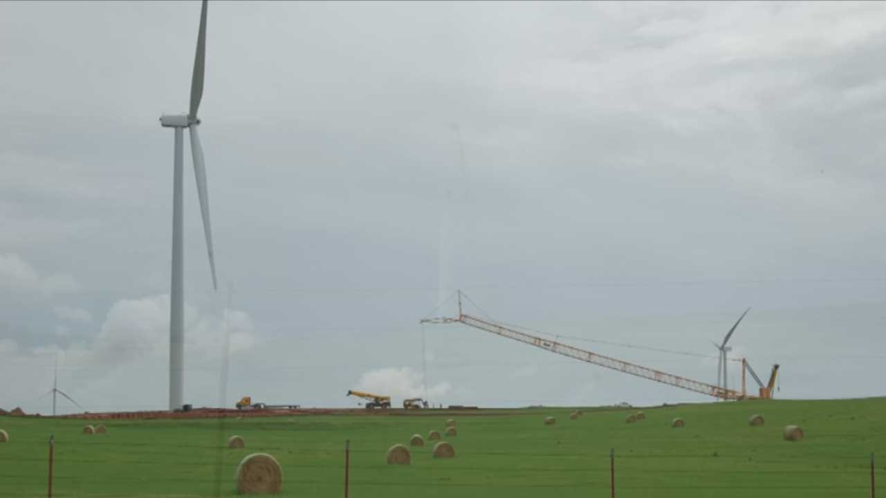 Florida Company Halts Wind Turbine Construction In Western Oklahoma