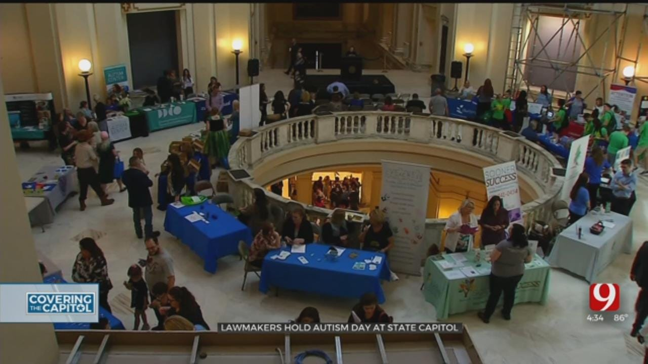 Lawmakers Meet With Autism Advocates At State Capitol