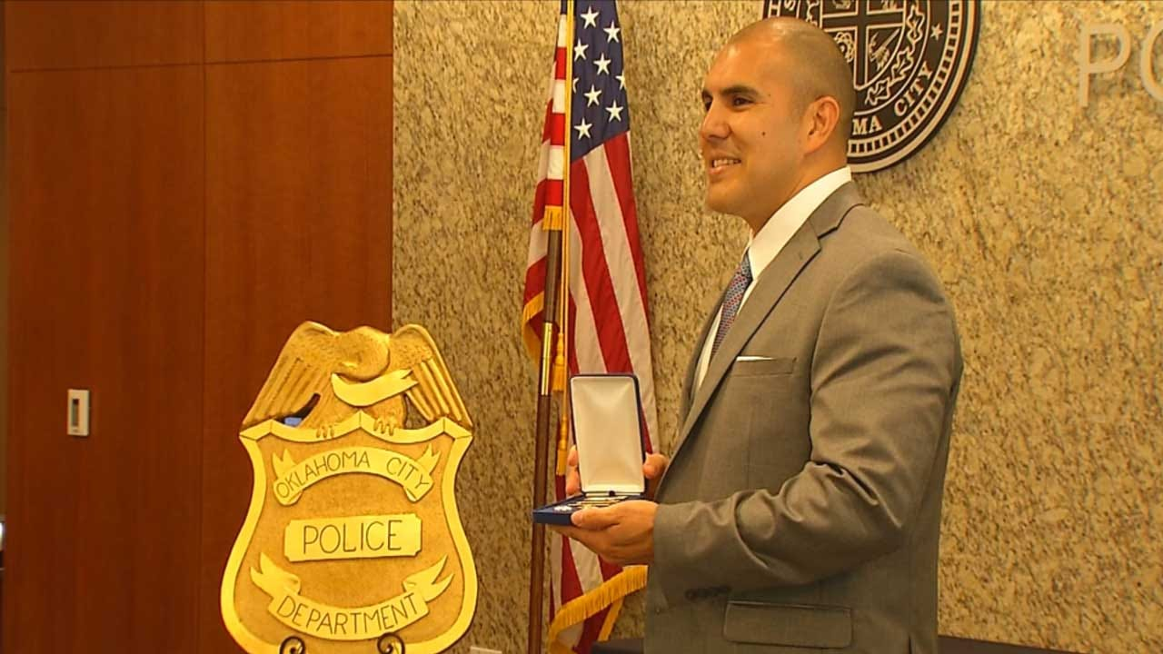 OCPD Holds Promotion Ceremony For Department's First Hispanic Deputy Chief