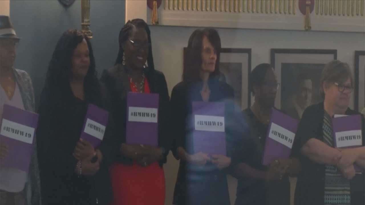 United Voice: Oklahoma Lawmakers Address High Black Maternal Death Rate