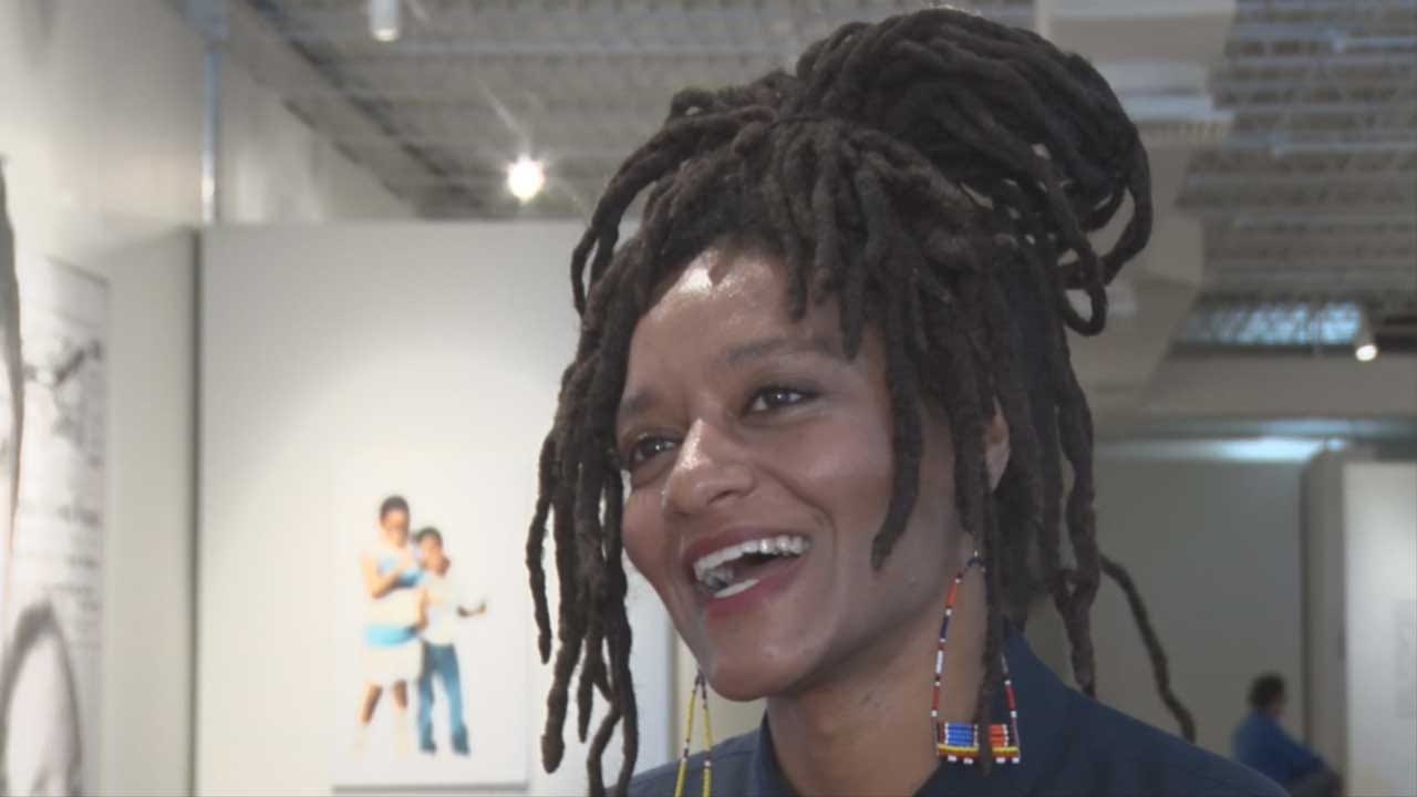Artist Behind 'Oklahoma Is Black' Exhibit Discusses Diversity In Art