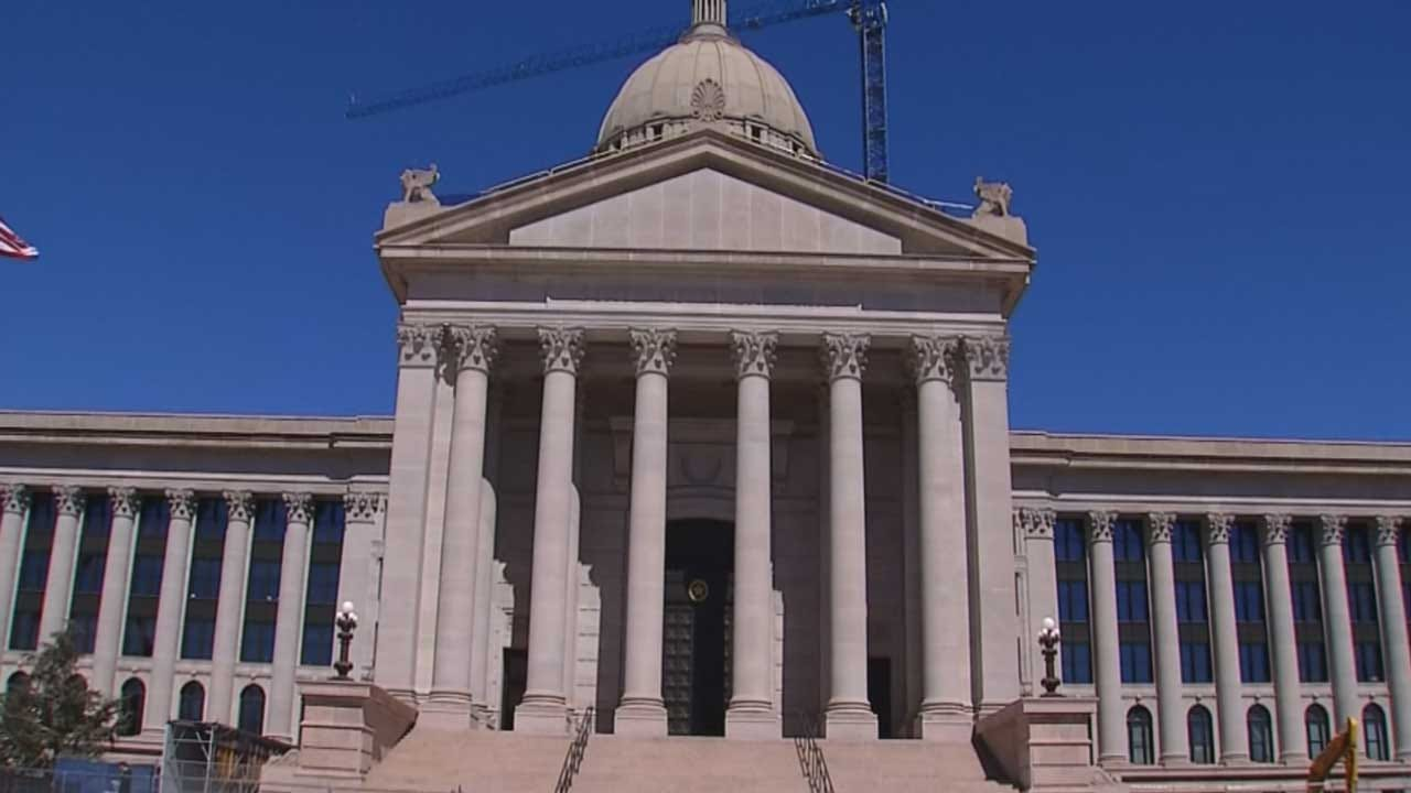Gov. Stitt, Lawmakers Talk About Budget Deal Reached At State Capitol