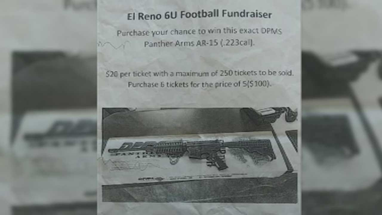 AR-15 Rifle Raffle For El Reno Youth Football Team Sparks Online Debate