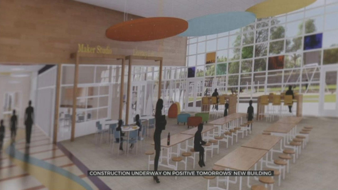 Construction Underway On New Building For School That Serves Homeless Children