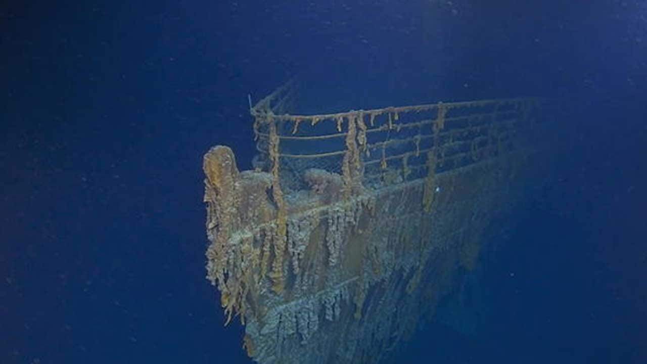 Rapidly Decaying Titanic Could Disappear In Decades