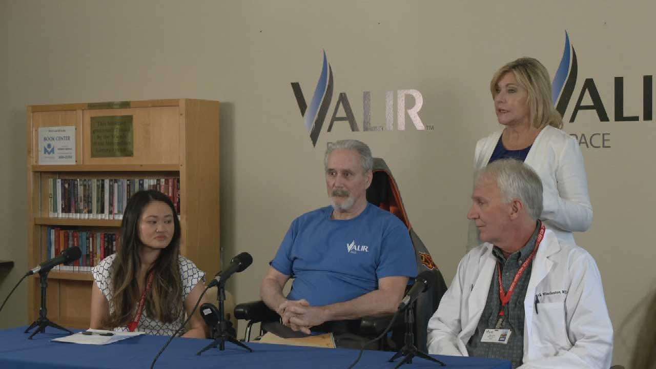 OKC Man Paralyzed After Being Diagnosed With West Nile Virus