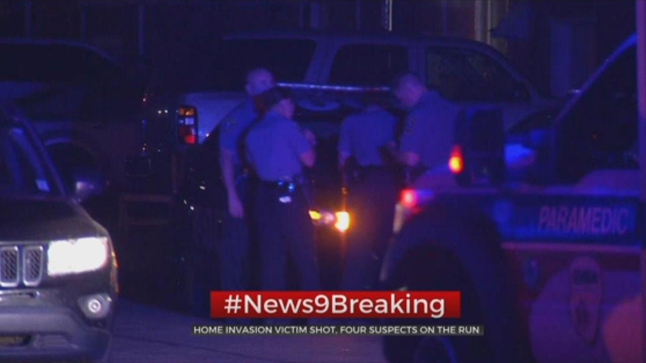 Police Searching For 4 Suspects After Homeowner Shot In SW OKC Home Invasion