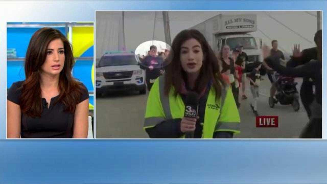 News Reporter Slapped By Runner On Live TV: 'He Took My Power'