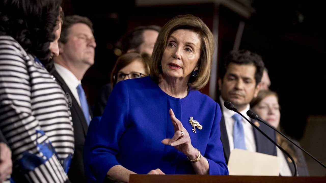 Pelosi Says She Won't Withhold Impeachment Articles 'Indefinitely'