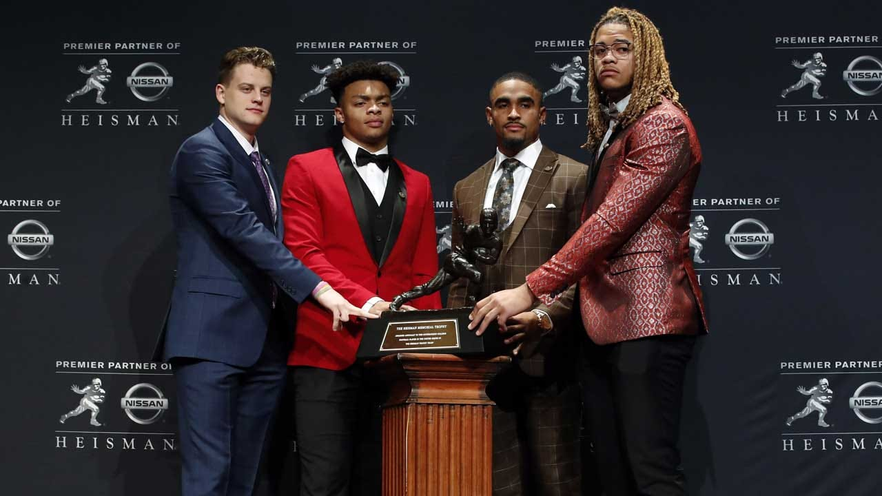 LSU QB Joe Burrow Wins Heisman Trophy; OU QB Jalen Hurts Finishes In 2nd Place