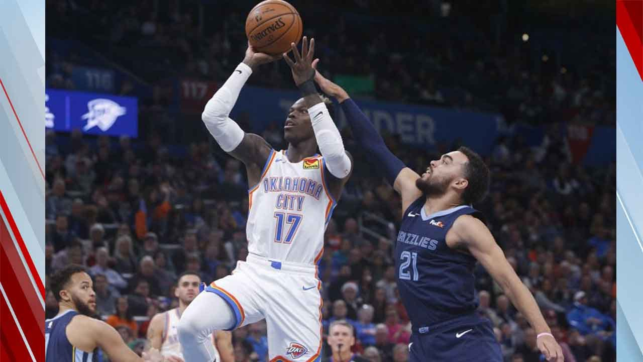 Thunder Overcome 24-Point Deficit To Beat Grizzlies 126-122