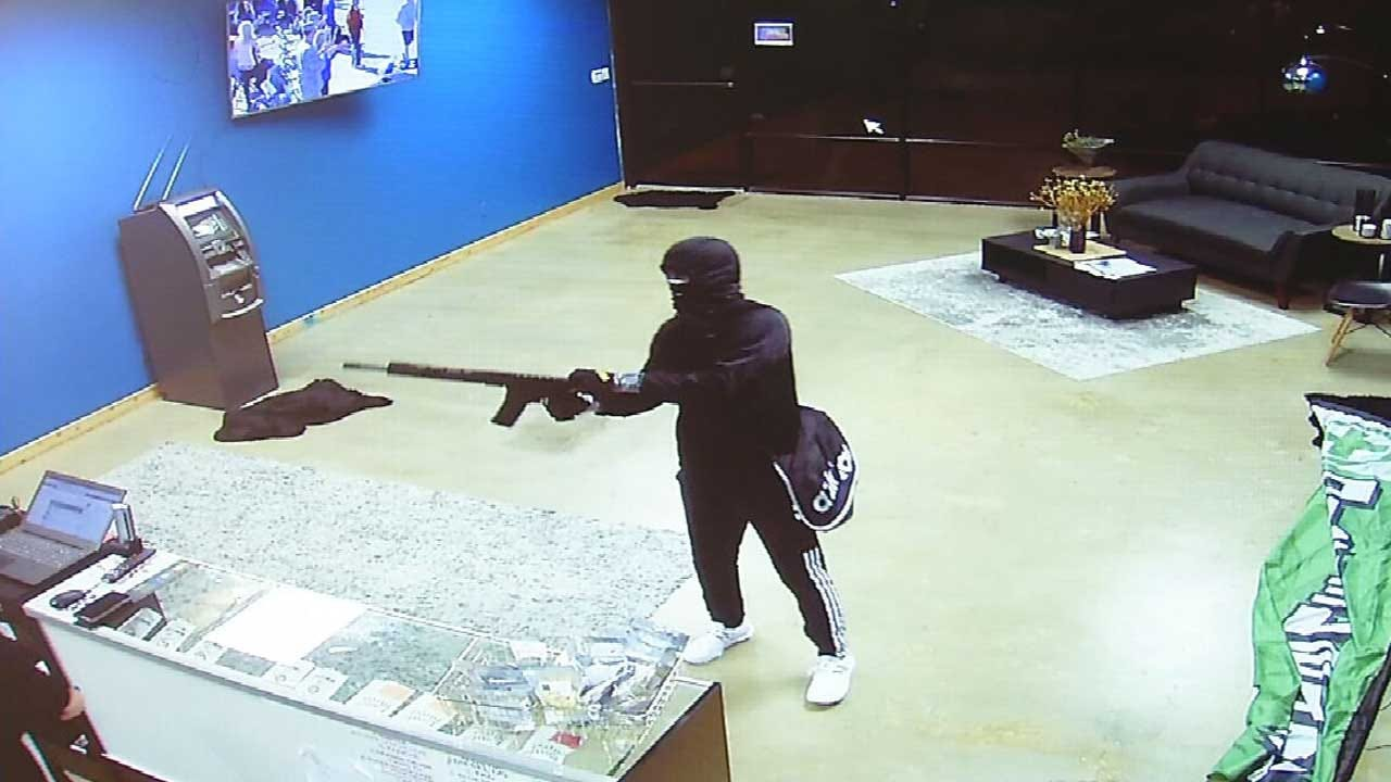 WATCH: OCPD Searching For Armed Robber After Dispensary Employee Handcuffed, Held At Gunpoint