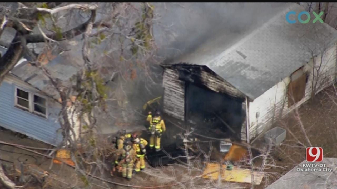 Firefighters Put Out Structure Fire In NW OKC