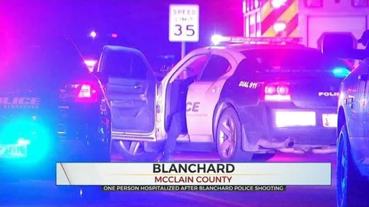 1 Injured After Officer-Involved Shooting In Blanchard, OSBI Reports