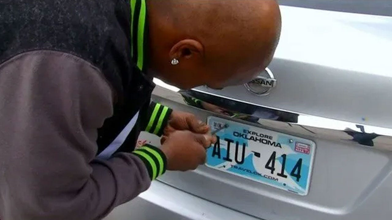 Pinnell Says No New License Plates As Okla. Rebrands