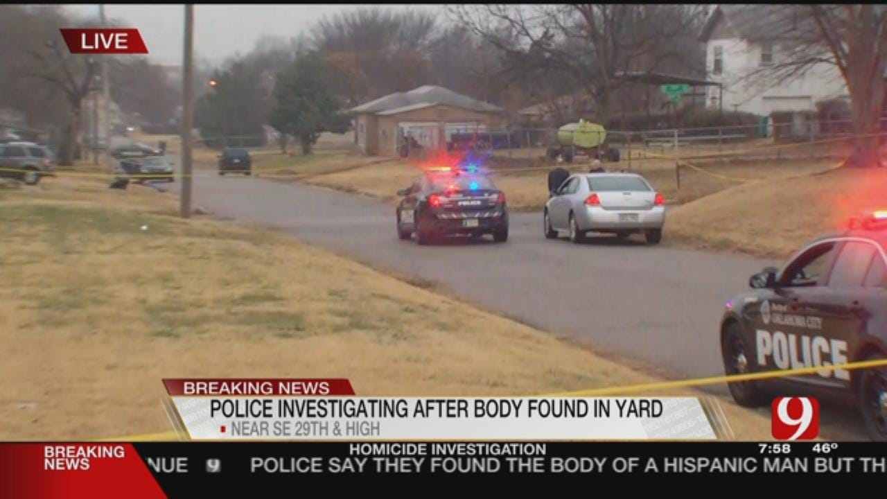 Officials Investigate Body Found In SE OKC As Homicide