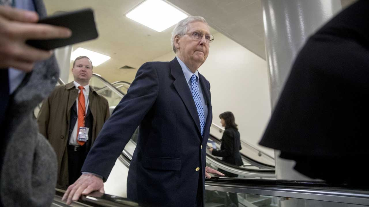 McConnell Rejects Dem Push On Impeachment Trial Witnesses
