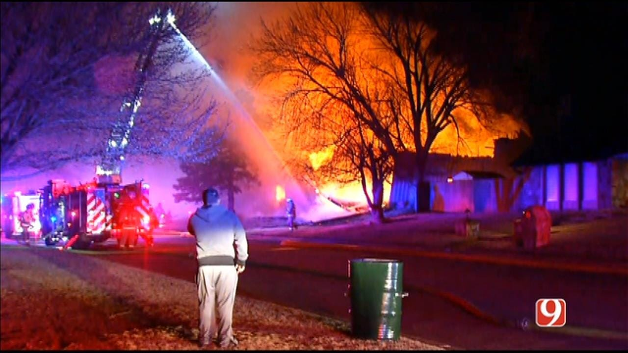 Woman Dies From Injuries Suffered In NW Oklahoma City Fire