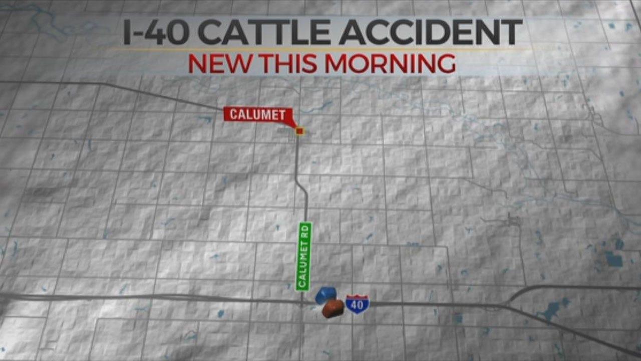 Crews Respond To Crash Involving Semi Truck, Cattle